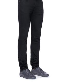 SAINT LAURENT 'SL01' calfskin leather sneakers