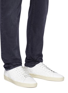Saint Laurent 'SL06' star patch calfskin leather sneakers