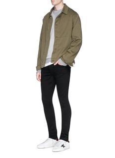 Amiri 'Stack' raw skinny jeans