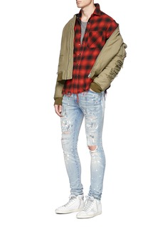Amiri 'Painter' ripped skinny jeans