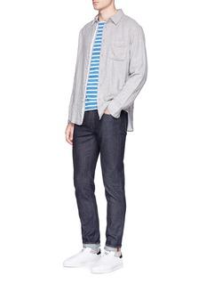 Saint-James'Minquiers Moderne' stripe long sleeve T-shirt