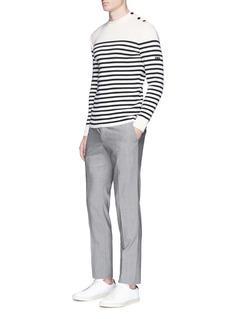 Saint-James'Rochefort' stripe virgin wool sweater