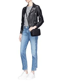 Valentino 'Rockstud Spike' leather camera bag