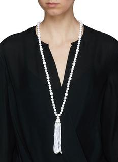 Kenneth Jay LaneTassel beaded necklace