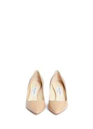 Front View - Click To Enlarge - Jimmy Choo - 'Romy 60' kid leather pumps