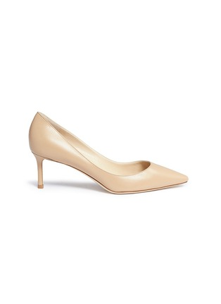 Main View - Click To Enlarge - Jimmy Choo - 'Romy 60' kid leather pumps