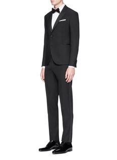 Neil Barrett 'Super Skinny' tuxedo blazer