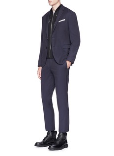 Neil Barrett Slim fit twill suit
