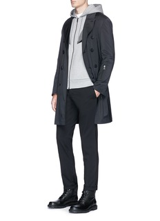 Neil Barrett Packable nylon coat