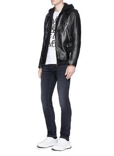 Neil Barrett Zip pocket skinny jeans