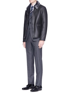 ISAIA 'Capri' check plaid wool suit