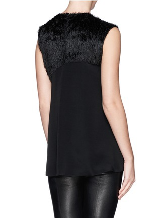 Back View - Click To Enlarge - 3.1 Phillip Lim - Sequin paillette silk fringe top