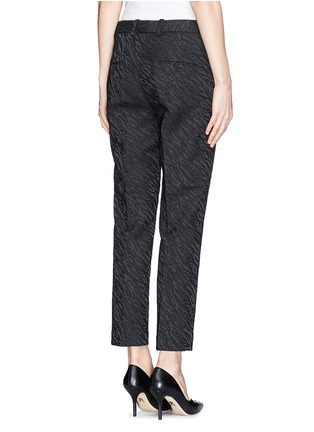Back View - Click To Enlarge - 3.1 Phillip Lim - Abstract wave jacquard cropped pencil pants