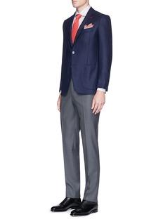 ISAIA'Gregory' cashmere twill blazer