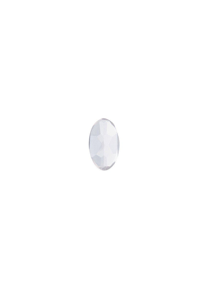 LOQUET LONDON Healing stone charm − 'Hope and Love' rose quartz