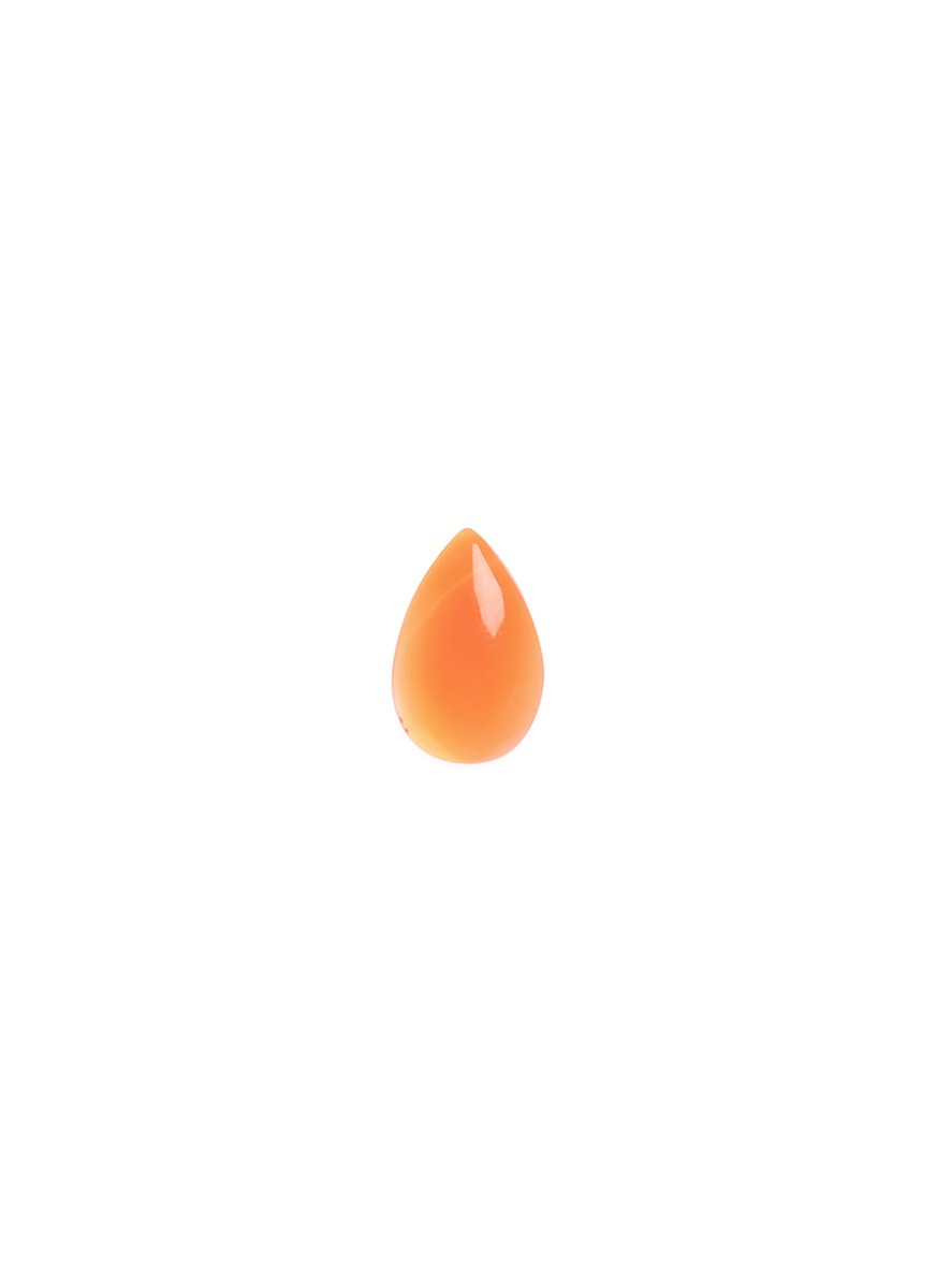 LOQUET LONDON Healing stone charm − 'Courage and Confidence' red carnelian
