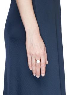 Roberto Coin'Black Jade' mother of pearl 18k rose gold ring