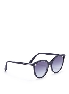 Victoria Beckham 'Cut Away Kitten' acetate cat eye sunglasses