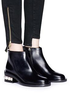 Nicholas Kirkwood 'Casati Pearl' leather ankle boots