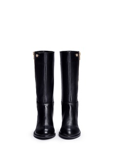 Stuart Weitzman 'Lowland Zippy' knee high toddler boots