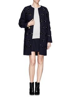 DIANE VON FURSTENBERGJewel embellished coat