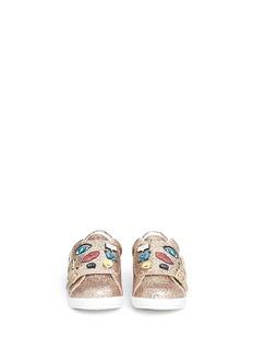 Sam Edelman 'Liv Wendy' embellished glitter kids sneakers
