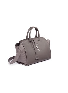 SAINT LAURENT 'Downtown Cabas' small leather bag