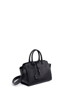 Saint Laurent 'Downtown Cabas' baby leather bag