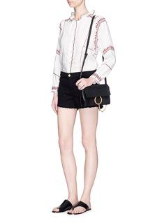 Frame Denim'Le Cutoff' distressed denim shorts