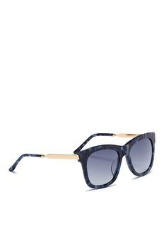 SPEKTRE MILANO 2板材拼接金属太阳眼镜
