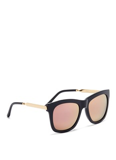 Spektre 'Milano 2' metal temple acetate sunglasses
