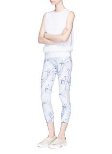 Calvin Klein Performance Smoke print cropped performance leggings