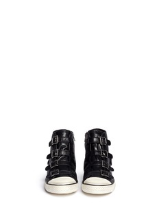 ASH 'Vincent' leather buckle sneakers