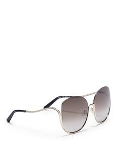 Chloé 'Milla' butterfly sunglasses