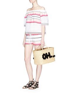 Lemlem 'Adia' stripe drawstring shorts