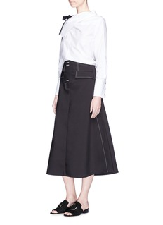 Ellery 'Eunice' side split A-line skirt