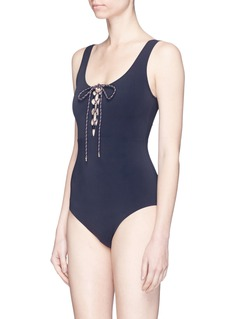 Stella McCartney 'Lacing' one-piece swimsuit