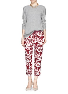 J. CREWCollection tropical sequin pants