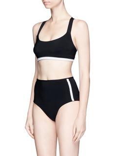 WARD WHILLAS 'Faye' reversible high waist bikini bottoms
