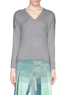 WHISTLES 'Mimmi' high-low hem sweater