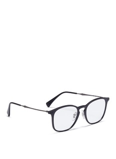 Ray-Ban Acetate square optical glasses