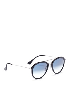 Ray-Ban Acetate round gradient sunglasses