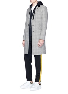 Alexander McQueenBullion embroidered zip hoodie