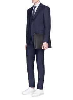 Alexander McQueen Wool-mohair hopsack blazer