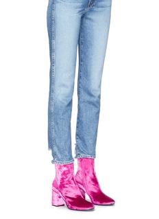 Balenciaga 'Ville' velour boots
