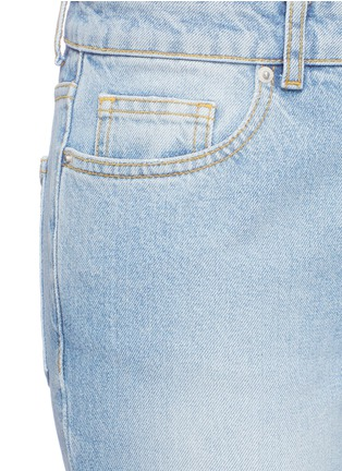 Detail View - Click To Enlarge - Alexander McQueen - Cropped bell-bottom jeans