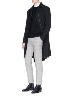 Alexander McQueen Skull intarsia wool-cashmere sweater
