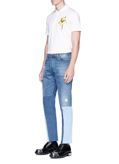 Alexander McQueen Iris appliqué polo shirt