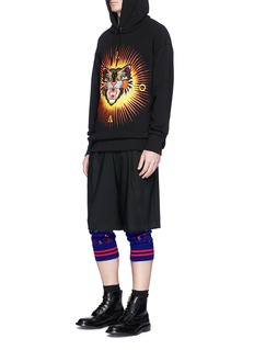 Gucci Skull wings intarsia knit leggings