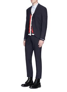 Gucci Panther fil coupé stripe shirt